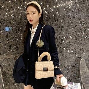 Winter Plush Embroidered thread   handbags for women   New2020 designer luxury shoulder leather crossbody  hand Traveling bag