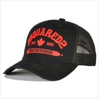 dsquared2 mens and womens outdoor baseball caps embroidered letters high quality sunscreen caps d23 mesh cap