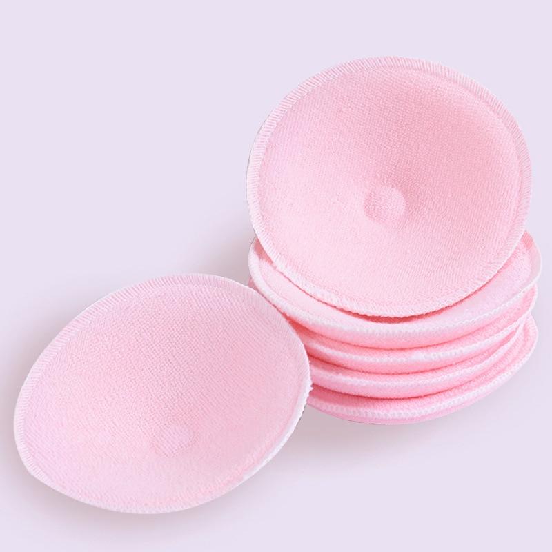 Discos de algodón + esponja sanitaria reusables, 20 pares, discos de algodón para pecho lactancia, almohadillas suaves 3D, accesorios para lactancia de bebés 10 pares