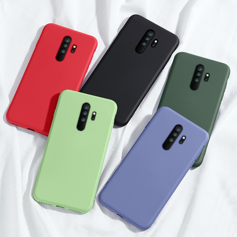 كاندي الألوان سيليكون علبة من البولي يوريثان ل شاومي Redmi نوت 8 برو 8 t 7 7a 8a K20 5 6 برو 8 T Redmi 9 Xiomi ماتي لينة قضية الهاتف