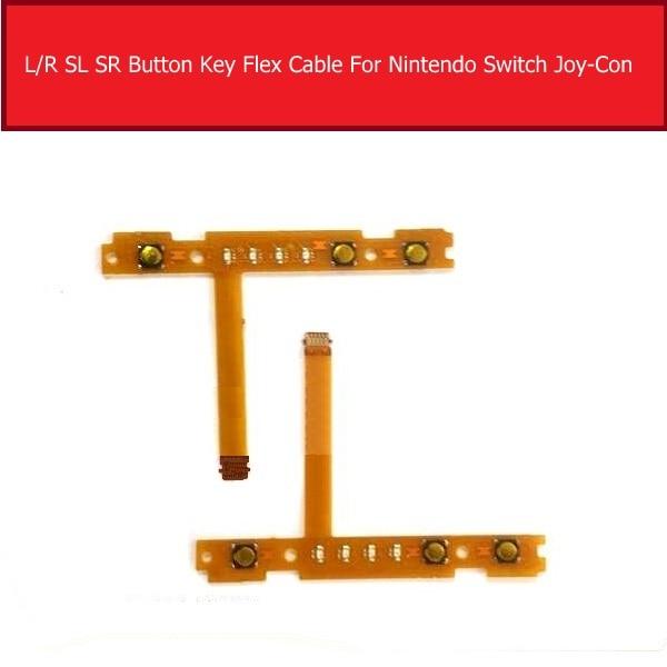 LR SL SR Button Ribbon Flex Cable For Nintendo Switch Joy-Con L R Button Key / Stick For Joy-Con Controller Replacement Repair