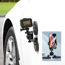 Экшн камера смартфон на присоске для гоночного автомобиля, крепление на кокпите, автомобильный держатель на крыше для GoPro Sony Phone