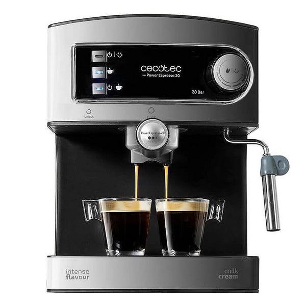 Express Manual Coffee Machine Cecotec Power Espresso 20 1,5 L 850W Black Inox
