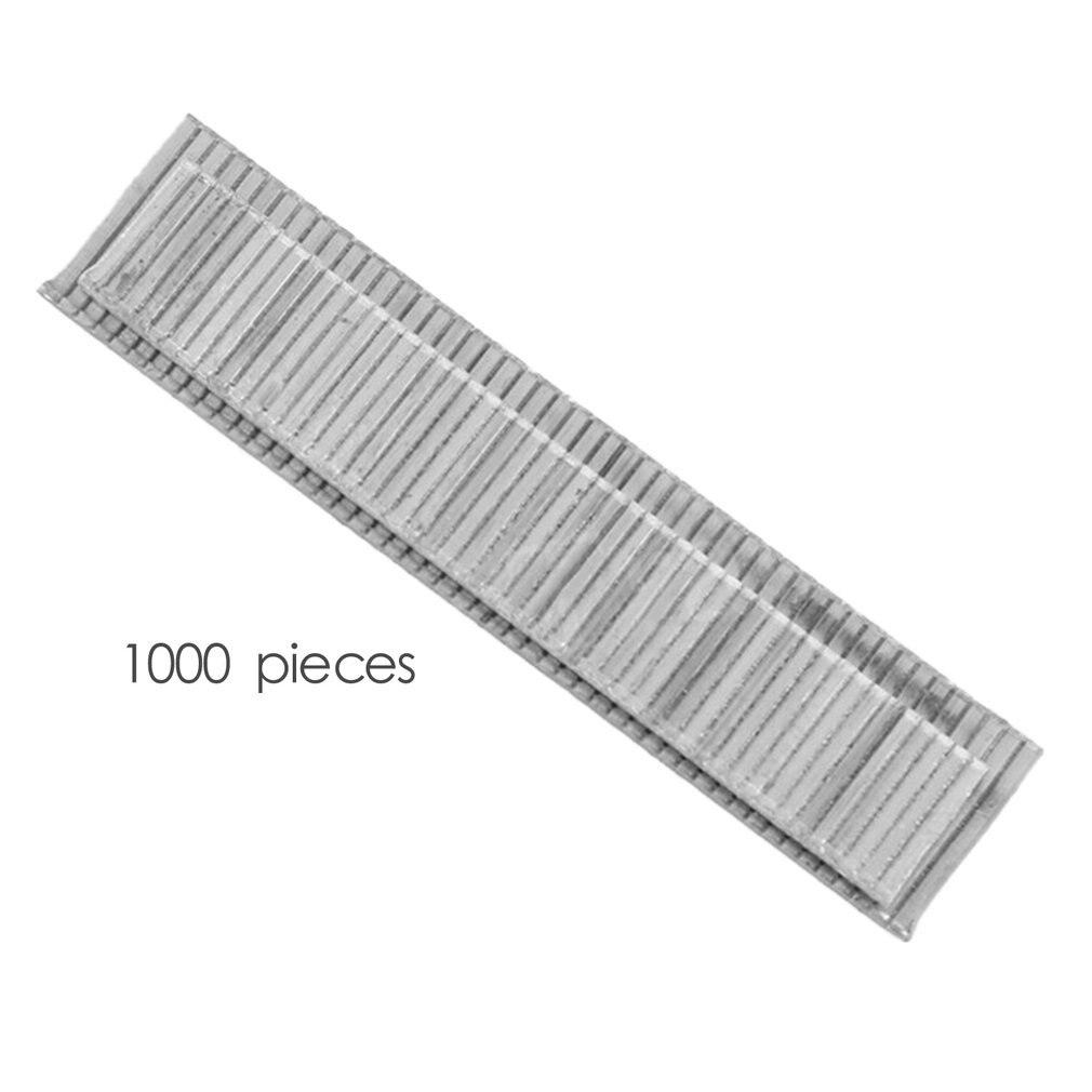 1000 pçs f10 grampos 10mm comprimento rustproof unhas para enquadramento tacker pregos elétricos grampo arma acessórios carpinteiro ferramenta