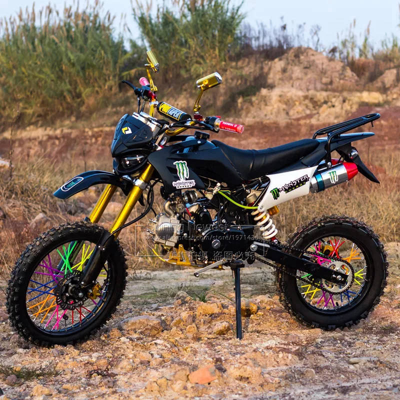 125cc gasolina bycicle para adultos motocicleta bicicleta fuera de carretera Fatbike Racing Moto grava down Pit Dirt bicicleta de montaña