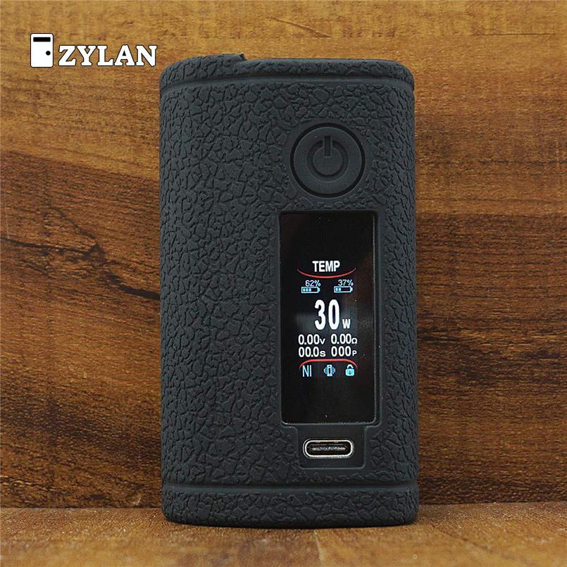 Pele para asmodus minikin 3 s 200w kit caixa vape silicone caso capa manga gel de proteção para minikin v3 à prova de choque