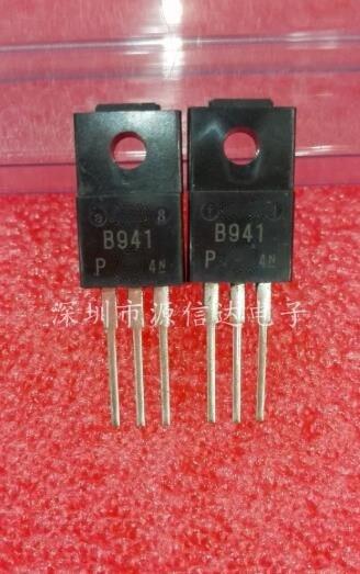 Nuevo original 2SB941 B941 3A/60V a-220 10 unids/lote