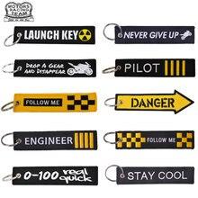 Gepäck Tag Trave zubehör Stickerei Starten Schlüssel Pilot Reise tag bagage tags für Flight Crew Pilot Luftfahrt Liebhaber