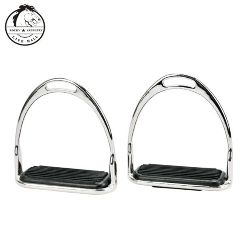 Cavassion Equestrian Equipment Standard Metal Stirrups when riding horses very important Saddlery Tools