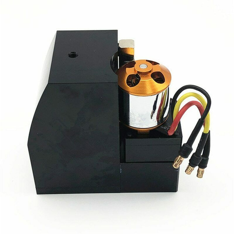 RC Metal Excavator HUINA 580 Upgrade Hydraulic Pump Integrated Oil Tank Parts accessories for rc toy enlarge