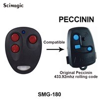 Peccinin מוסך דלת שלט רחוק 433.92MHz רולינג קוד PECCININ מוסך שער פותחן משדר