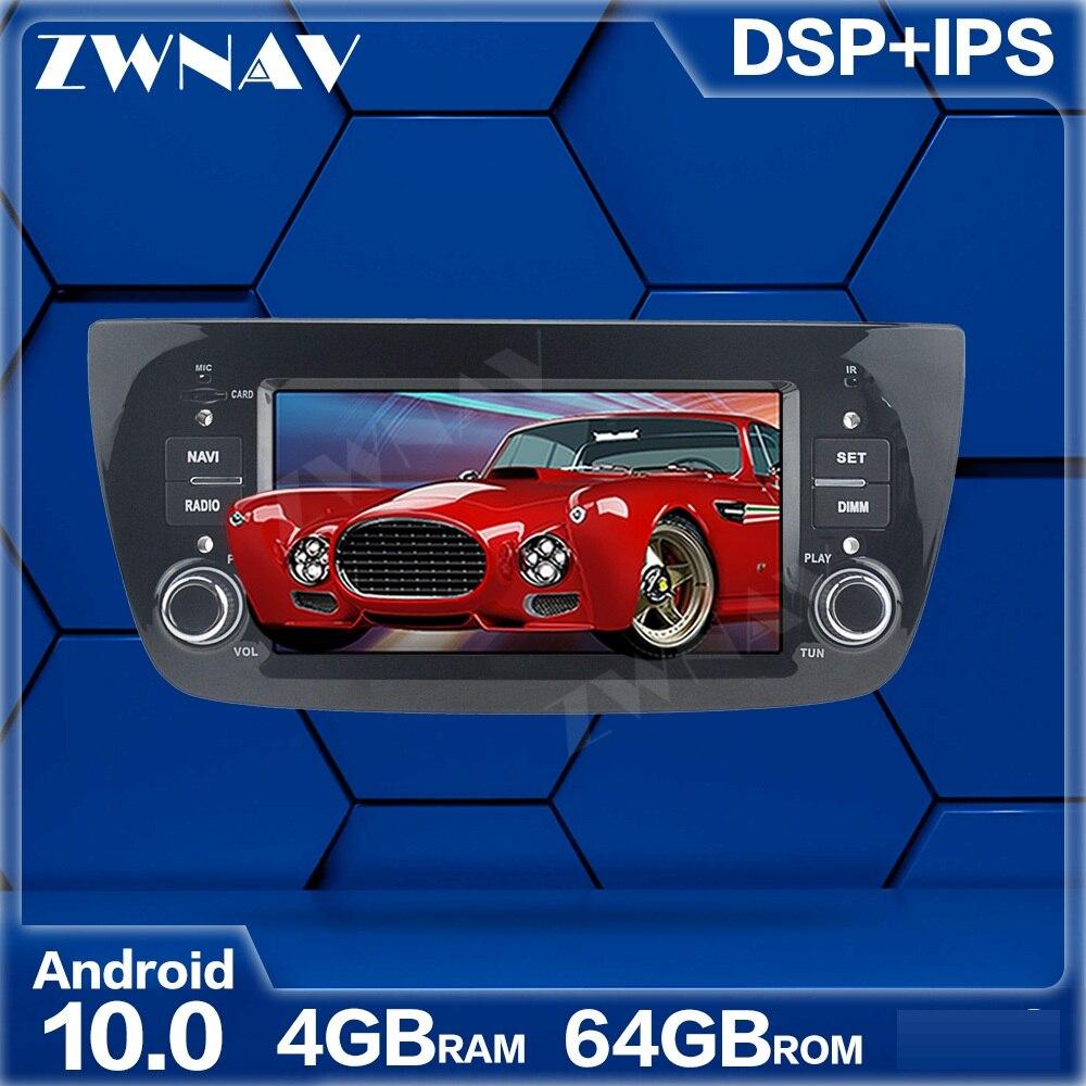 Reproductor Multimedia para coche con Android 10, 4 + 64GB, para FIAT DOBLO 2010-2016, 1Din Radio para coche, navegador estéreo con GPS, 4G + 64G, Octa Cores, WIFI DSP