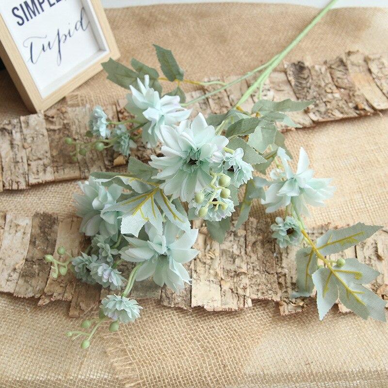 Cabeças de 15 88CM Novo Colorido flor Artificial Peônia Dália Flores Noiva flor Falsificada Home do Partido Decoração Do Casamento Do Natal DIY