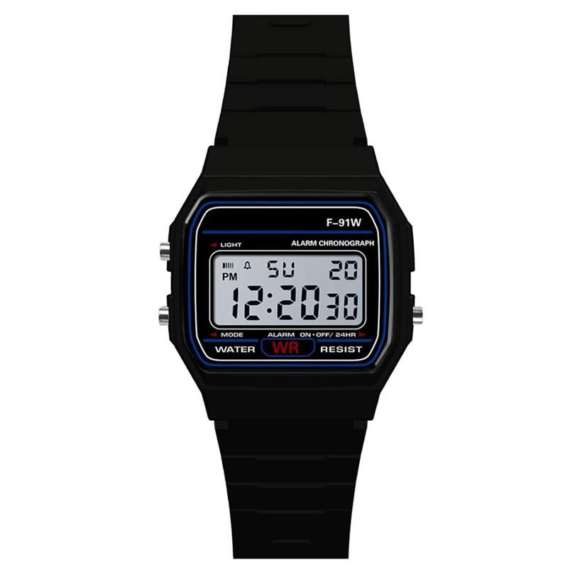2019 Fashion Men Watch Sport Watch LED Luxury Men Analog Silicone Digital Military Smart Armys Busin