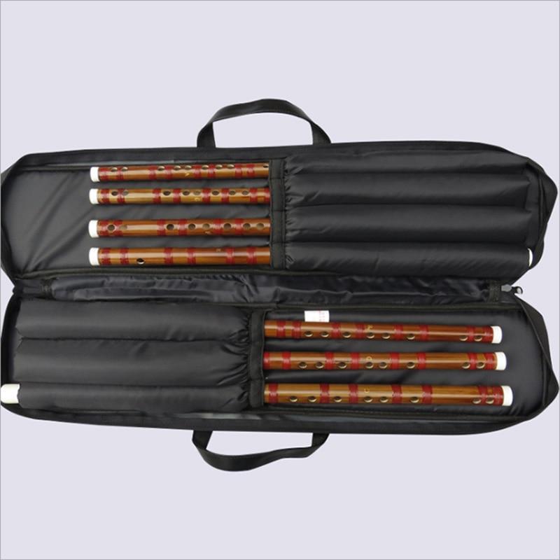 Flauta de dos secciones, 7 trajes, flauta de un solo enchufe, puerto de cobre para principiantes, flauta de bambú, instrumento de viento