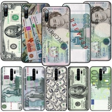 GX253 Vintage Money Dollar Rouble Pound Soft Silicone Case for Redmi Note 4X 5 5A Prime 6 6A 7 7A 8