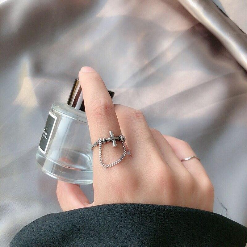 Кольцо из сплава Timlee R026 с неровным геометрическим крестом в стиле ретро, популярные аксессуары, оптовая продажа