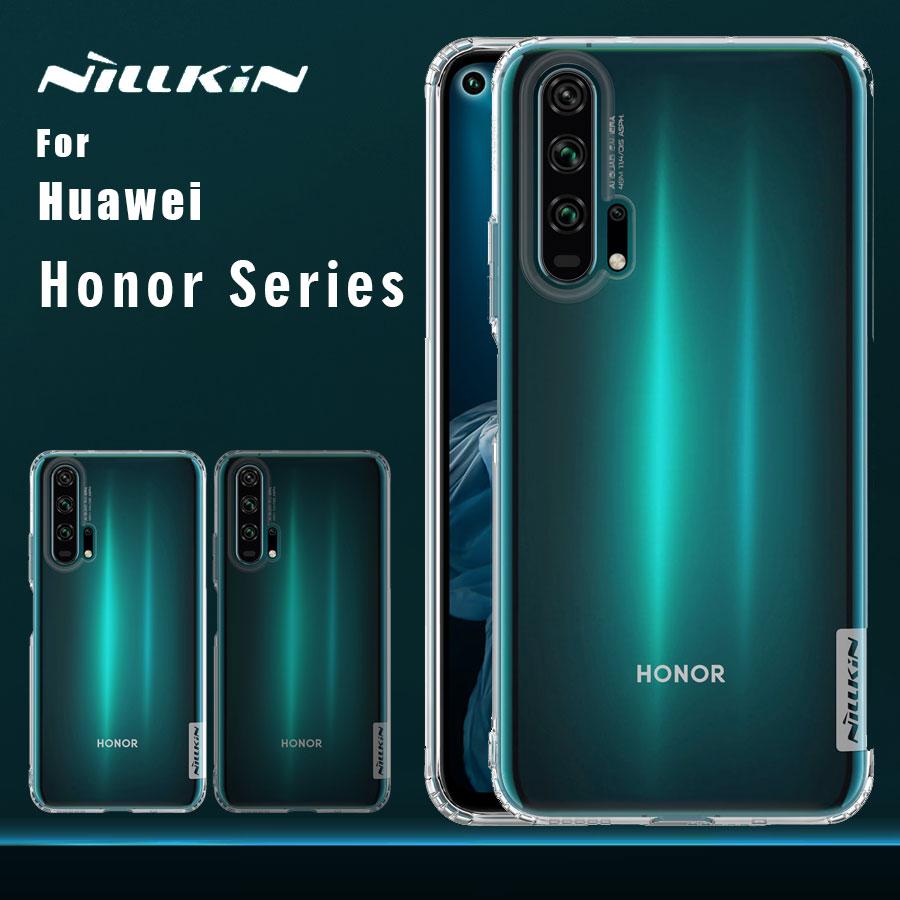 Nillkin para Huawei Honor 20 Pro 20 10 9 funda TPU 0,6mm funda de silicona Ultra fina para Huawei Honor 20 10 9 Pro funda