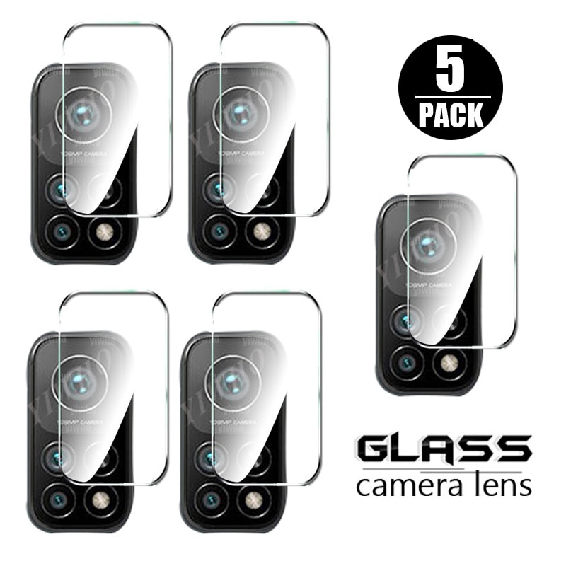 5PCS tempered glass for xiaomi 10t pro camera lens screen protector for xiaomi mi 10 t 10tlite 5G xiaomi10t pro protective glass