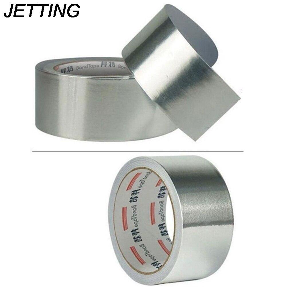 Fita adesiva resistente de alta temperatura da folha da resistência térmica da fita adesiva da selagem da folha de alumínio de 5cm * 17m