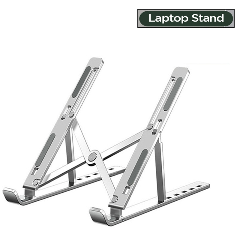 Portable Adjustable Laptop Stand Foldable Support Base Notebook Stand For Macbook Pro Lapdesk PC Com