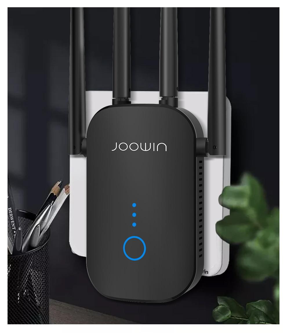 4*3dbi AntennaWiFi Repeater WiFi Extender 2.4G 5G Wireless WiFi Booster Wi Fi Amplifier 5ghz 1200Mpb Wi Fi Signal Repeater Wi-Fi