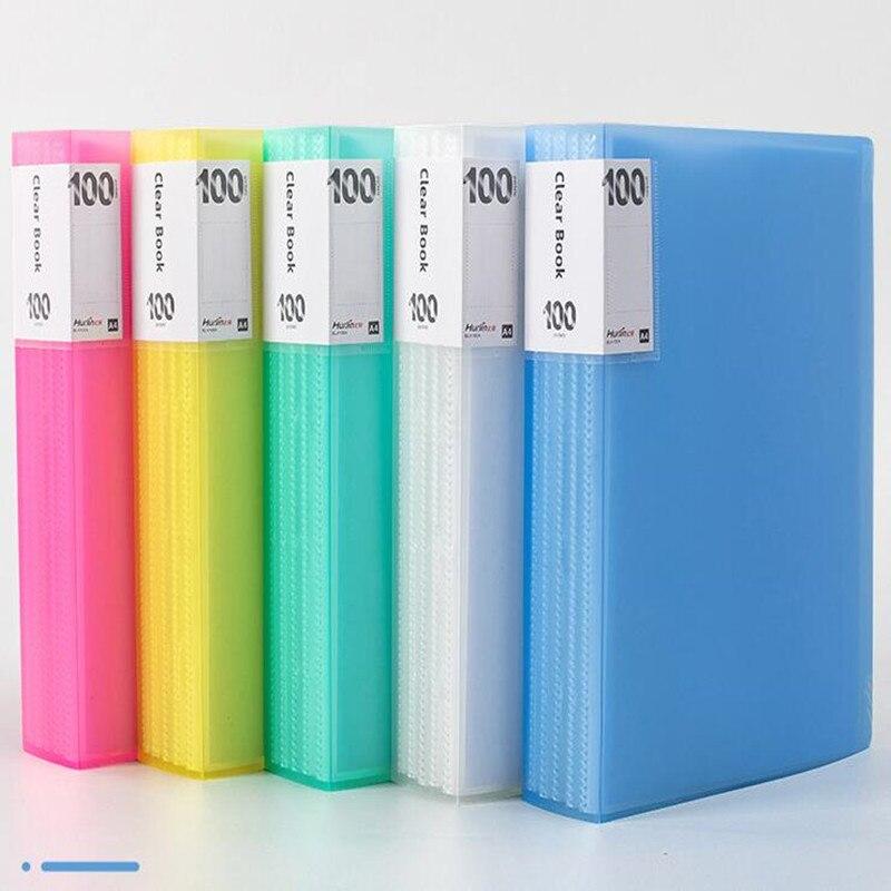Информационная папка А4, книга, брошюра, классификация цветной бумаги для студентов, упаковка, прозрачная вставка, брошюра органайзер для фа...