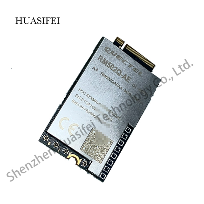 Quectel RM502Q-AE MINIPCIE Quectel 5G Wireless Module Cover global 5G frequency bands Multi-constellation GNSS capabilities enlarge