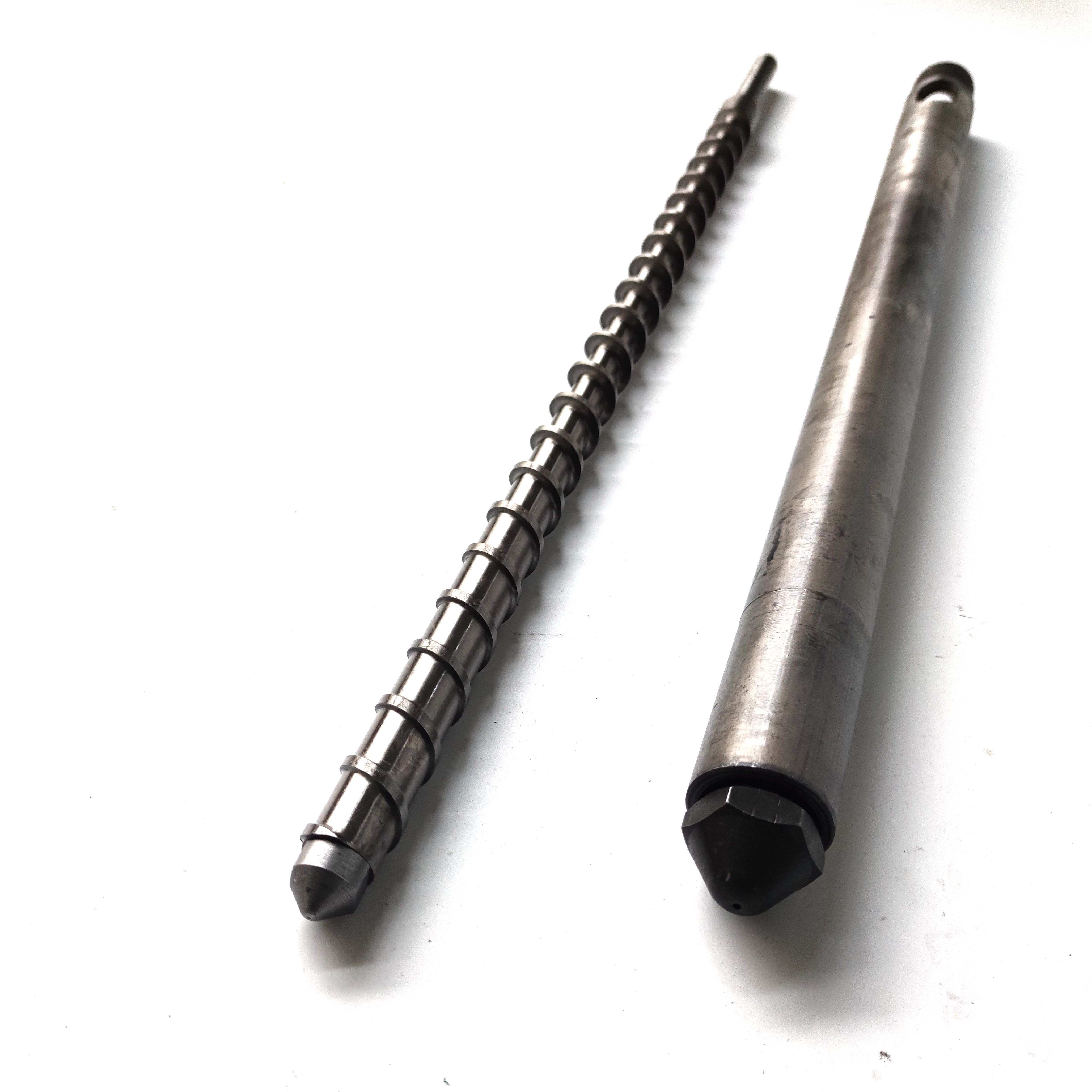 30mm Diameter Injection/Extrusion Screw Kit for Precious Plastic Project Screw, Barrel, Nozzle and Heaters