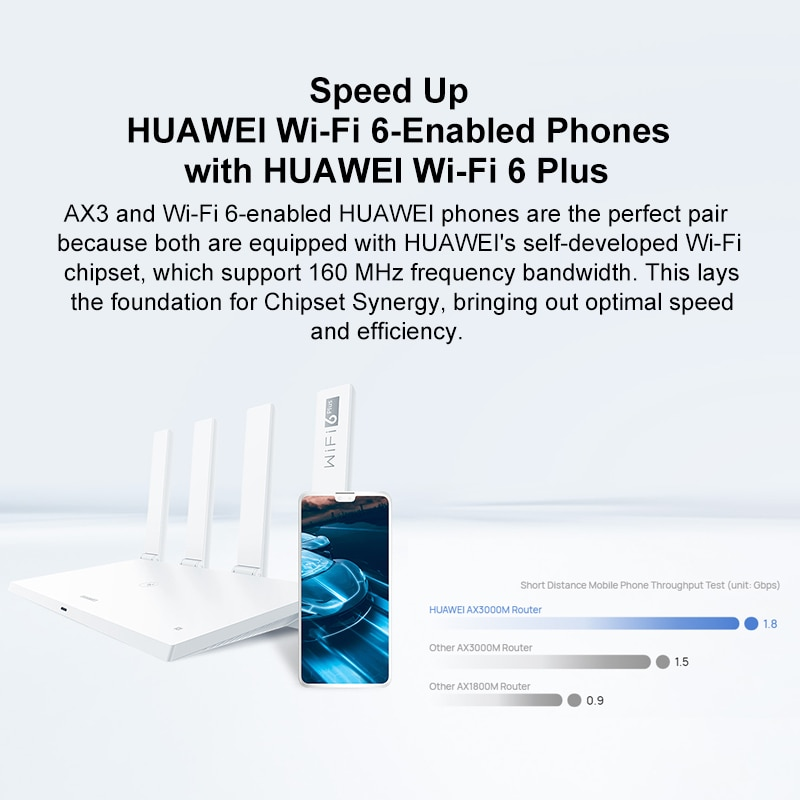 Original Chinese Version Huawei Router AX3 PRO dual Core WiFi6 plus mesh wifi Wireless Router 3000Mbps 2.4GHz 5GHz wifi extender enlarge
