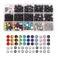 4 8mm loose beads crystal string box set for diy jewelry making accessories