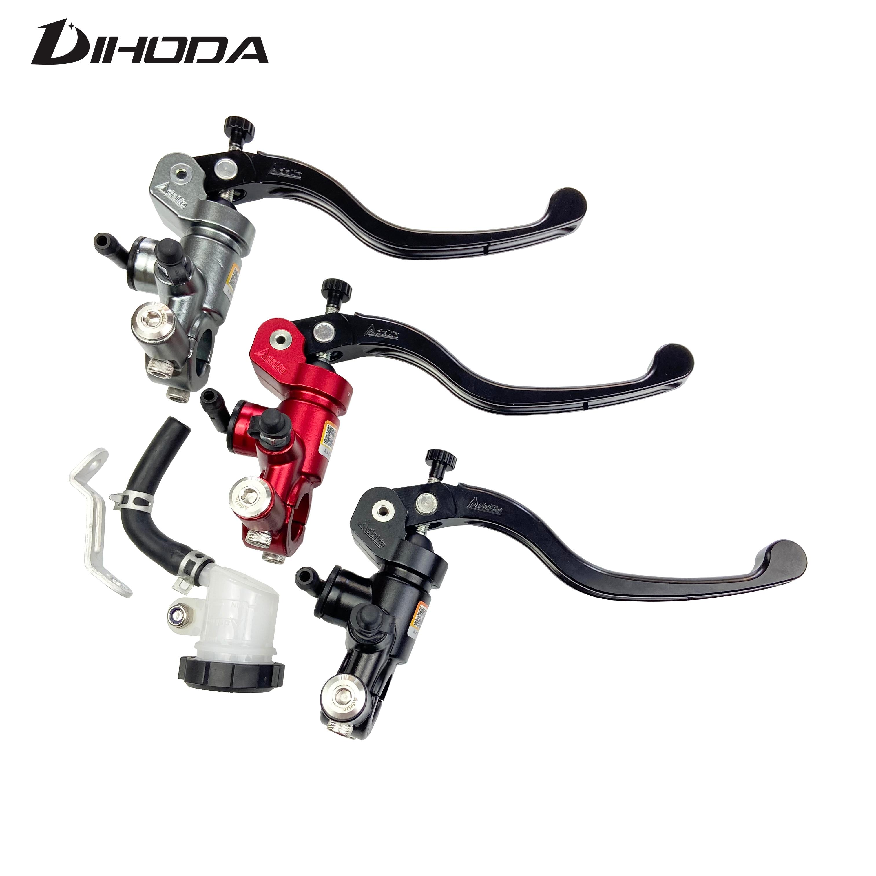 Оригинальный тормозной насос Adelin PX1 для гоночного мотоцикла, 14 мм, 15 мм, тормозной насос, ручка рычага главного цилиндра для Kawasaki, Yamaha, Honda R6, Fz6