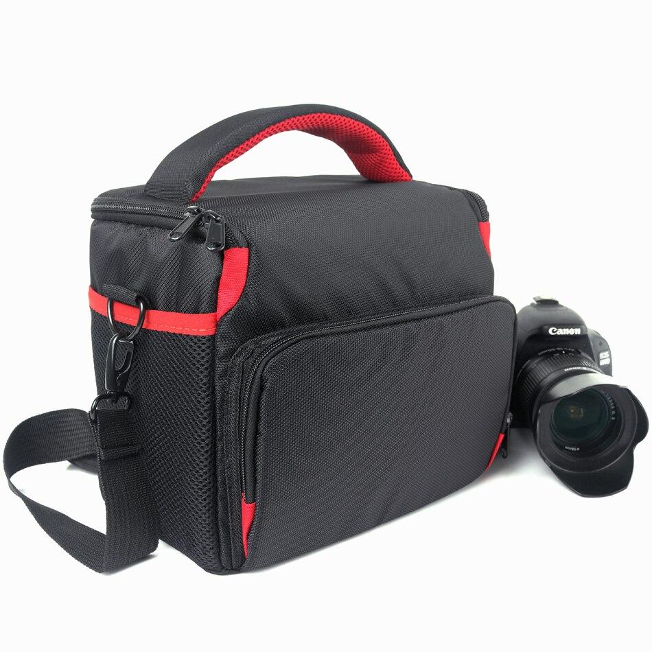 Bolsa para cámara DSLR de alta capacidad, funda para Nikon D5300 D7200...