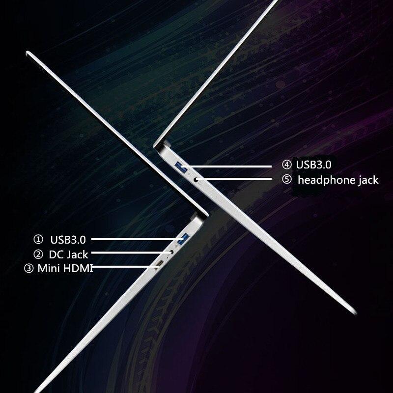 Intel Celeron J4125 15.6 inch Windows 10 Pro 1920*1080 Games office Laptop RAM 12GB Rom 256GB 512GB/1TB 2TB 1.5TB SSD Note Book