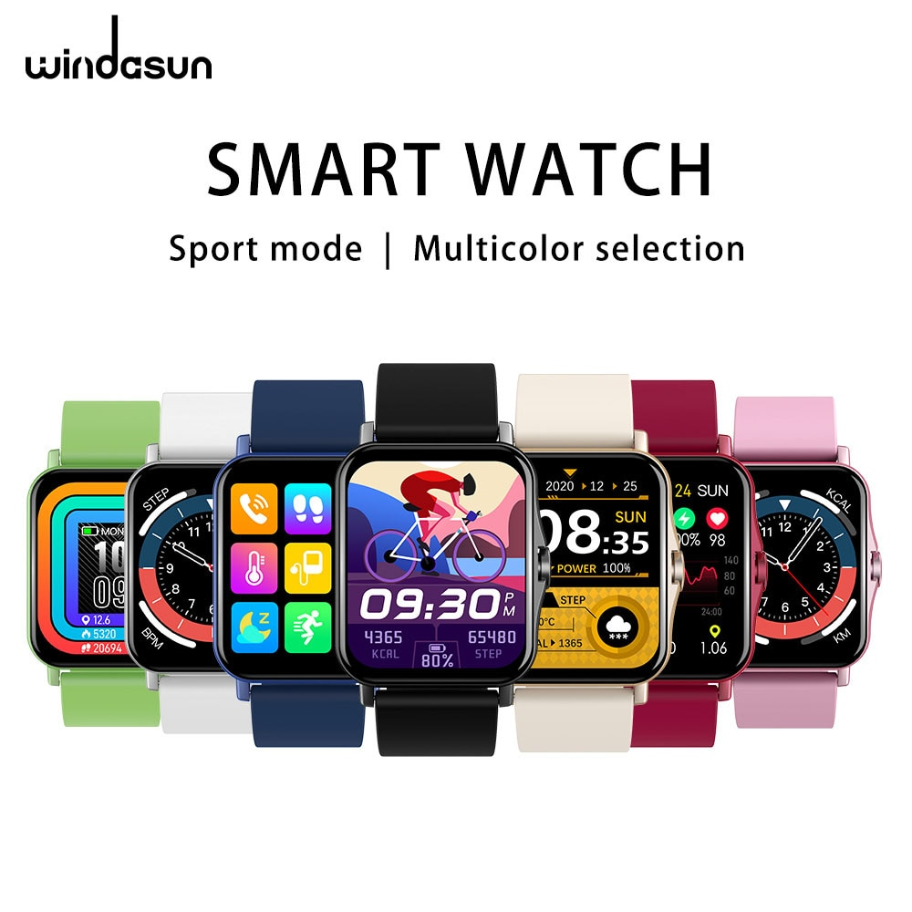 Windasun ZW23 Large-Screen Multi-Function Smart Watch For Men And Women, Bluetooth 4.0 Can Be Connec