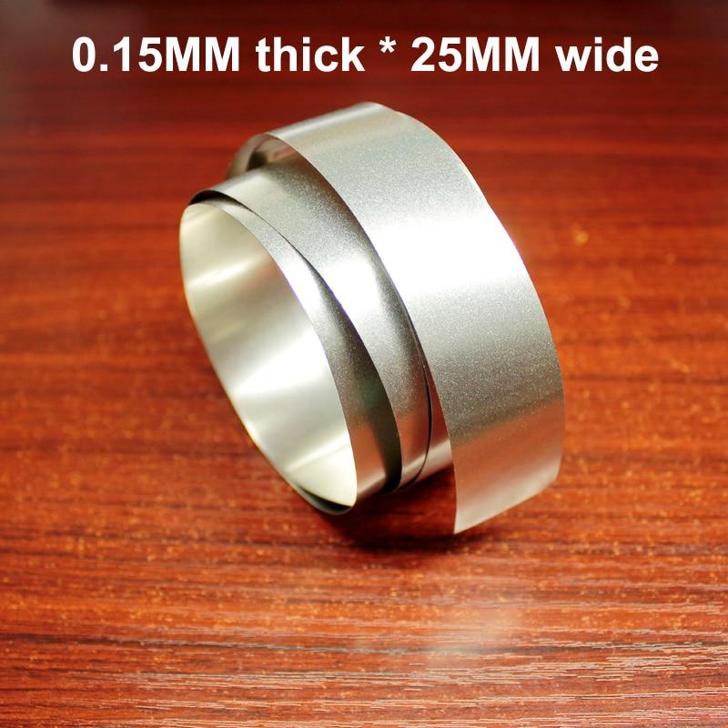 Купить с кэшбэком 10m nickel-plated steel belt 18650 32650 battery combination nickel-plated DIY spot welding nickel strip 0.1/0.15/0.2 thickness