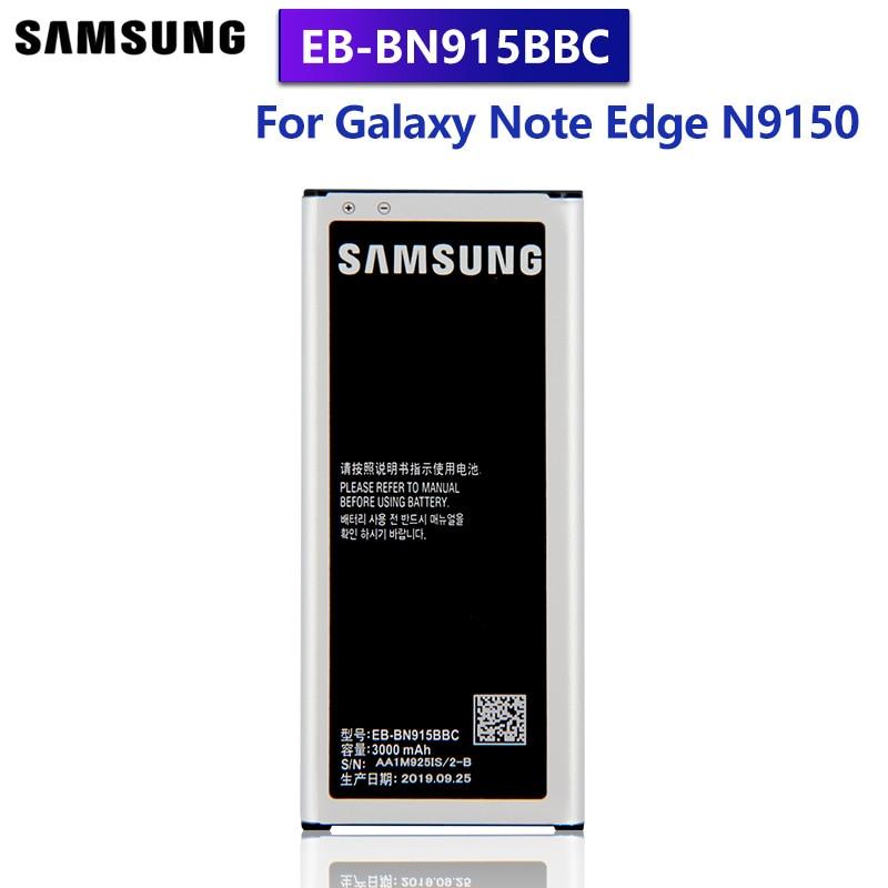 Samsung batería Original EB-BN915BBE para GALAXY nota borde N9150 N915FY N915D N915F N915K N915L N915S G9006V SM-N915G EB-BN915BBC