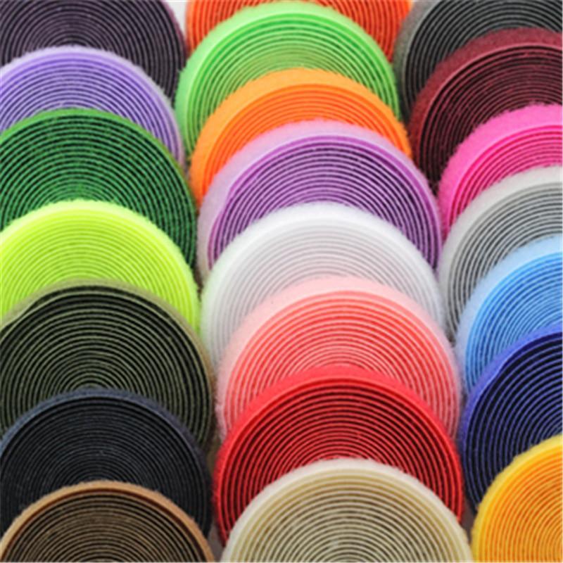 Conjunto de accesorios de costura de cinta de colores, ganchos adhesivos de...