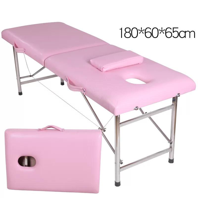 المهنية تحمل على تدليك كرسي العناية بالجمال ، للطي تدليك الوشم سبا السرير ، مخصص صالون تجميل ، طاولة معالجة سماكة