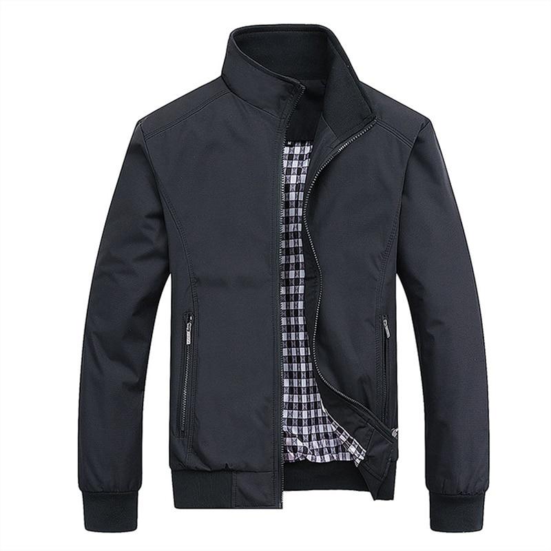 Hot البيع 2021 جديد ماركة الموضة سترة الرجال الملابس الاتجاه كلية سليم صالح عالية الجودة الرجال عادية جاكيتات ومعاطف M-5XL