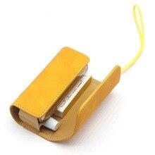 Flip Doppel Buch Abdeckung für Iqos 3,0 Duo Fall Tasche Tasche Halter Abdeckung Brieftasche Leder Fall für Iqos 3 Zubehör