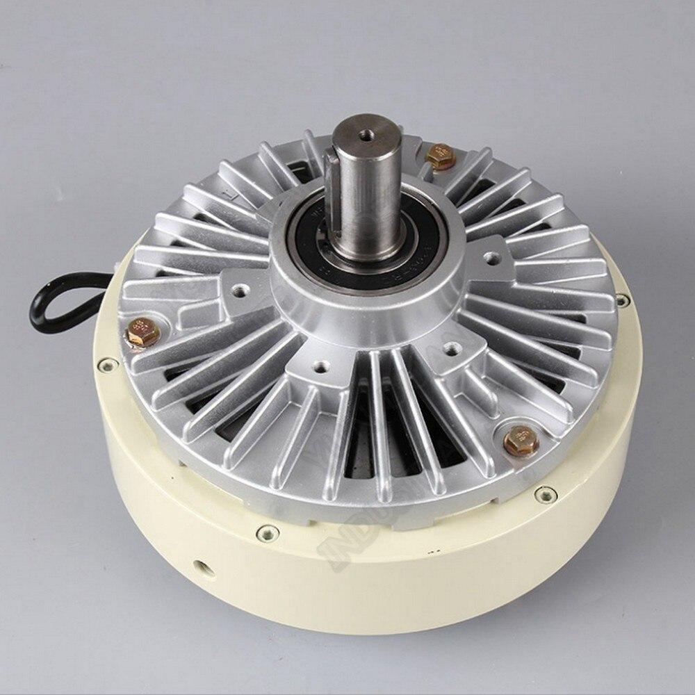 المغناطيسي مسحوق الفرامل 6Nm 0.6 كجم DC 24V واحد رمح 12 مللي متر 1400RPM الفك ل التوتر التحكم حقيبة الطباعة والصباغة آلة