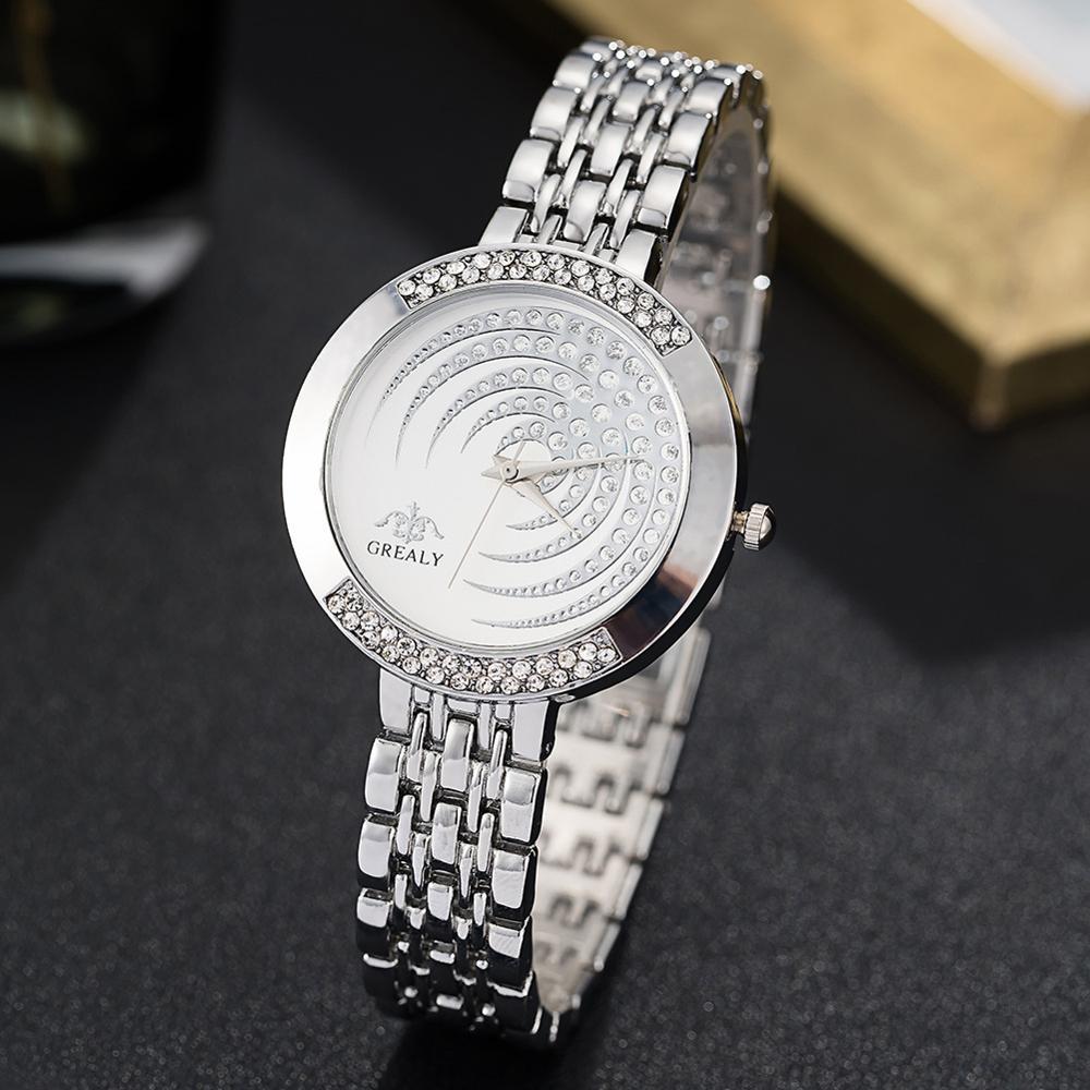Популярные женские наручные часы, золотые часы, женские часы разразы, серебряные часы из нержавеющей стали 2019, женские часы Montre Femme