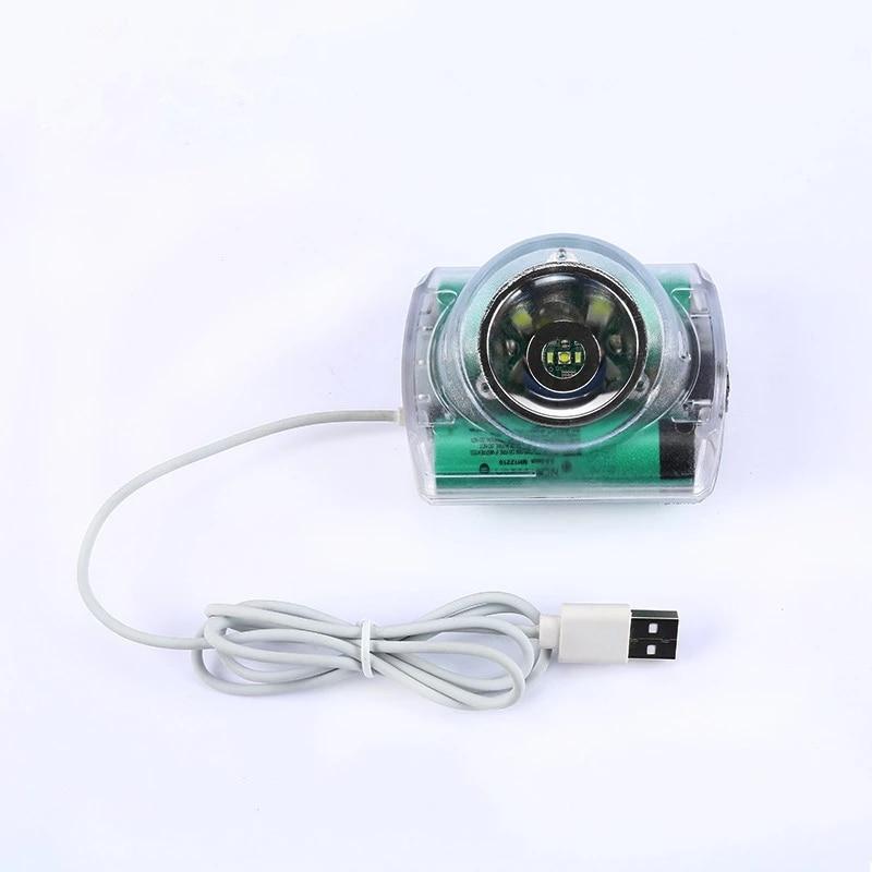 2021 IP68 Explosion-Proof Light LED Lion Battery 6.8AH Miner Lamp Cordless Mining Headlamp Fishing Lamp enlarge