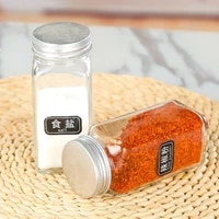 glass kitchen storage jars container small cereal bottles lids camping accesorios rangement cuisine kitchen organizer dl60sp