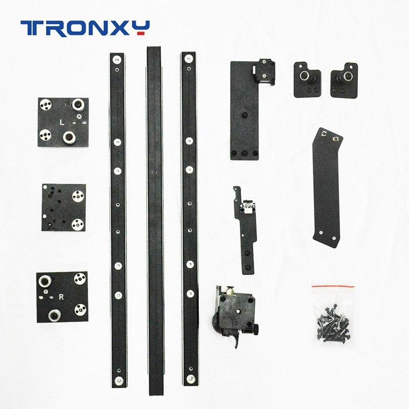 Tronxy X5SA to X5SA Pro-مجموعة ترقية ، سكة توجيه مزدوجة المحور Titan Extruder ، أجزاء وإكسسوارات لـ ducker impresora 3D