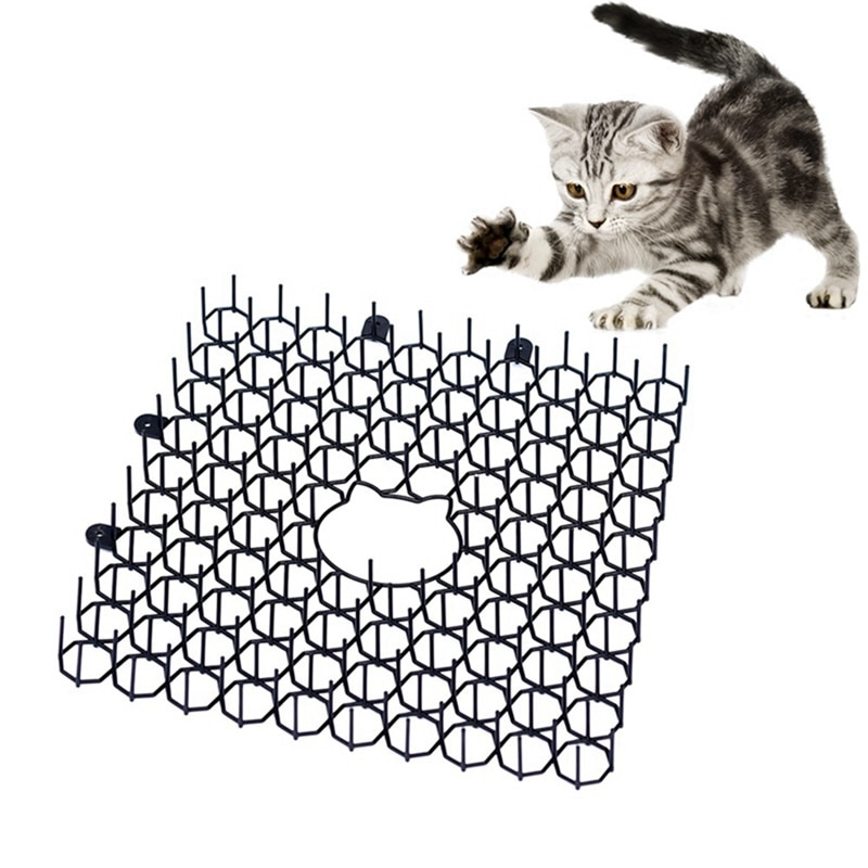 Support Drop Shipping Plastic Anti-Cat Poke Pad Mandrel Garden Green Plant Protection Tool Animal Drive Cat Nail Pad