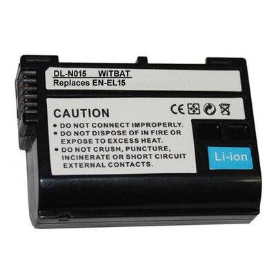 TTVXO 1900mAh batería para Nikon V1 D500 D750 D7100 D7000 D800 D600 D610... EN-EL15