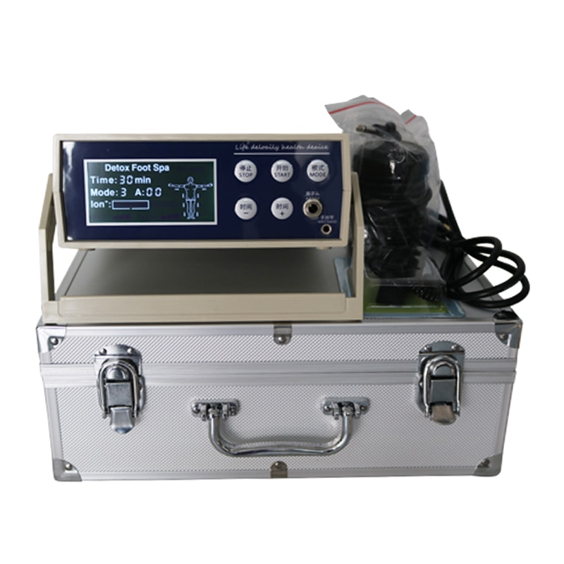 Personal care detox foot bath ionic aqua foot detox machine new version simple and easy use