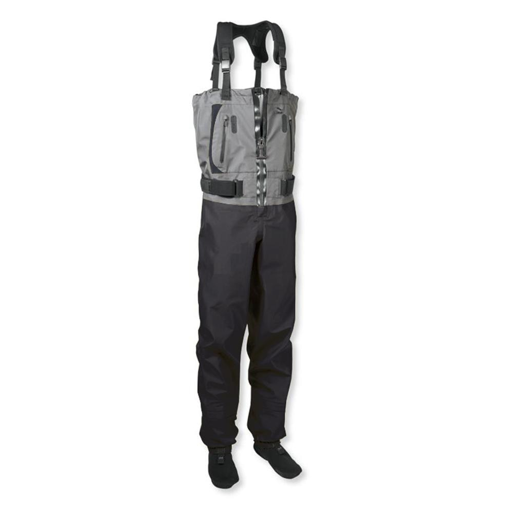 Men s Fishing Chest Waders 3-Ply Durable Breathable and Waterproof with Neoprene Stockingfoot Insulated Fishing Hunting Apparel